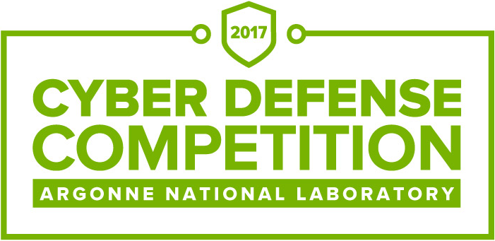 2017 Cyber Defense Competition Argonne National Laboratory Logo