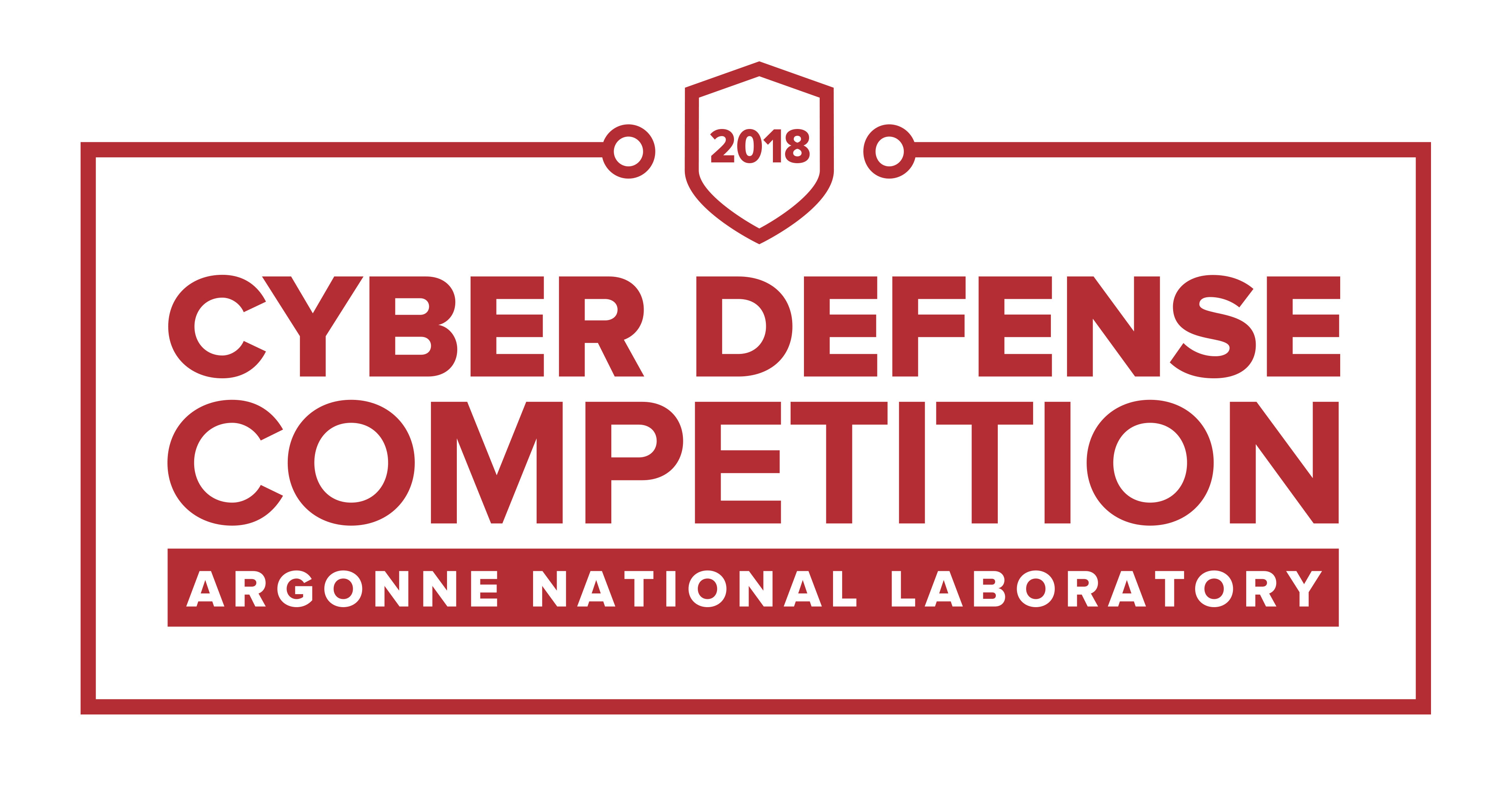 April 2018 Cyber Defense Competition Argonne National Laboratory Logo